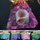 10pc 9x11cm Favour Organza Gift Bag Christmas House Wedding Voile Jewelry Pouch
