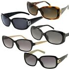 Fendi Sunglasses Womens Mens Unisex Designer Black Brown (RBox1)