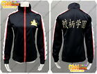 Rin Matsuoka from Free! - Iwatobi Swim Club cosplay costume sport Jacket black