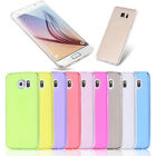 Shockproof Soft TPU Silicone Gel Back Case Cover for Samsung Galaxy S6/S6 edge