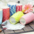 Cupcake Baking Paper Cup Muffin Cases Stripe Star Polka Dots Liners Party 50pcs
