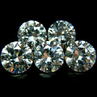 Round 5mm AA Cubic Zirconia White CZ Stone Lot