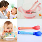 Food Grade Baby Suction Bowl Temperature Colour Changing Spoon Feeding Tableware