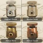 NWT Luxury Bleed Valves for all Cast Iron Radiators (Available in 4 Finishes)