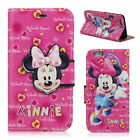 Lovely Disney Mickey Minnie Wallet Flip Leather Case Cover For iPhone 6 6 Plus