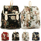 Fashion Women Girl Backpack School bag Bookbag Rucksack Canvas Travel Hiking bag