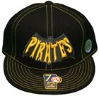 New! Pittsburgh Pirates - Flatbill Fitted Hat-3D Embroidered Cap - Cooperstown