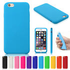 """Silicone Rubber Gel Case Cover Skin For Apple iPhone 6 Plus 5.5"""" Free Screen"""