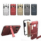 Iron Man Hybrid Combo Armor Shockproof Stand Case Cover Skin For HTC One M9