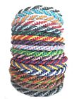 Fair Trade Waxed Cotton Cord Thai Wristband Classic Handcrafted Wristwear