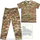 BOYS ARMY OUTFIT KIDS TROUSERS T-SHIRT SET MTP BTP DRESS UP FANCY DRESS CADET