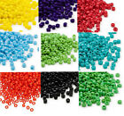200 Matsuno 6/0 Glass Seed Beads Solid Colors Shiny Or Frosted Spacer Beads