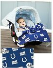 NFL Whole Caboodle 5pc CarSeat Canopy for Baby car seat Licensed Football Teams