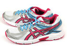 Asics Patriot 7 White/Hot Pink/Soft Blue Sportstyle Running Shoes T4D6N-0120