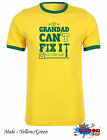 If Grandad Can't Fix It No One Can Gift 2015 Fathers Day T-shirt Ringer Yellow