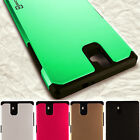Hybrid Armor Protective Slim Phone Cover Case for ZTE Grand X Max+ Z987