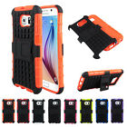 For Samsung Galaxy S6 G9200 Hybrid Rubber Rugged Impact Protective Case Cover DB