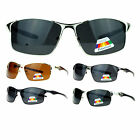 SA106 Mens Polarized Spring Hinge Luxury Designer Narrow Sport Sunglasses