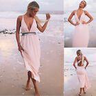 2015 New Fashion Sexy Women's Sleeveless Cocktail Evening Party Long Dress Hot