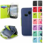 For LG Sunrise L15G / Lucky L16C Card & Cash Wallet Case Pouch Screen Protector