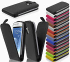 Split Leather Smart Phone Protection Cover FLIP Style with Clip Case Wallet Etui
