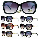 VG Eyewear Womens Diva Art Deco Retro Metal Weave Arm Butterfly Sunglasses