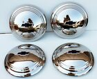 1935 1936 Chevrolet Truck Bowtie Hubcaps 4 PC Stainless Steel