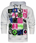 Converse Mens Hoodie Hoody White Cotton Polyester (E409M251 100) R23