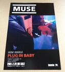 2001 Muse Plug In Baby JAPAN record promo ad / mini poster advert m03r
