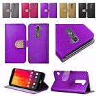 PRE ORDER For LG Volt 2 LS751 Magna Shiny Leather Wallet Card Holder Cover Case