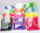 300PCS  Rubber Loom Bands+12 Clips 10 Color Buy 3 Get 1 Free Leave Note to us