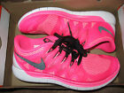Nike Free 5.0 2014 Womens Running Shoes 7 Pink Pow 642199 603