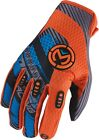 Moose Racing 2015 ADULT MX ATV Sahara Gloves Blue/Orange S-2XL