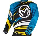 Moose Racing 2015 ADULT MX ATV Jersey M1 Blk/Blu/Ylw S-3XL