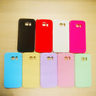 Silicone Soft Rubber Cute Candy Colors Gel Tpu Case Cover for Samsung Galaxy S6