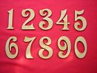 MDF NUMBERS  5cm 50mm 2 inch  (25p each)-  LASER CUT