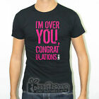 T-SHIRT CAMISETA NERA SLIM FIT SUM 41 I'M OVER YOU BAND PUNK ROCK CHUCK T15B