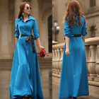 New Womens Bohemia Sexy Boho Long Maxi Dress Ladies Summer Beach Party Sun Dress