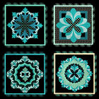 LOVELY BAROQUE BLOCKS- 36 MACHINE EMBROIDERY DESIGNS (AZEB)