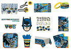 Batman Birthday Party Tableware 2015 Range Decoration Items