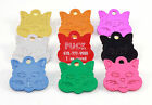 Pet Tags Custom Engraved ID Tag Dog Cat Charm Personalized Quality Fast Ship
