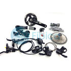 New 2016 Shimano Deore XT M8000 Full Brake Groupset Group set 1/2/3x11-speed