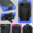 Dual Layer Kickstand Protective Armor Tough Phone Cover Case for for LG 840G