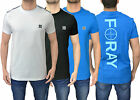 Mens Designer Foray Fitted T-Shirt Tee Crew Neck Top Cotton Back Detail Draw