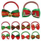 Wholesale Christmas Pet Bowties Dog Cat Adjustable Bowknot Collar Neck Accessory