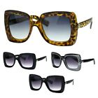 SA106 Retro Womens Thick Plastic Mod Groove Butterfly Sunglasses