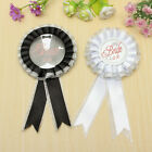 Bride/Groom To Be Badge Brooch Rosette Hen Wedding Party Night Bachelorette