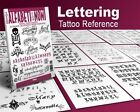 CALLIGRAPHY LETTERS Writing Design Tattoo Flash Book 66 pages