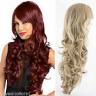 "Olivia Extra Long Wave Curly Synthetic Full Head Wig 856 All Shades 28"" Uk Stock"