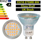 5050 27SMD 6W GU10 Led Bulbs Day Warm White Spotlight Halogen Replacement UK